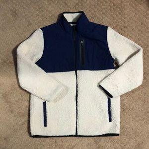 BNWOT! Boys Sherpa Outerwear Zip Up Jacket